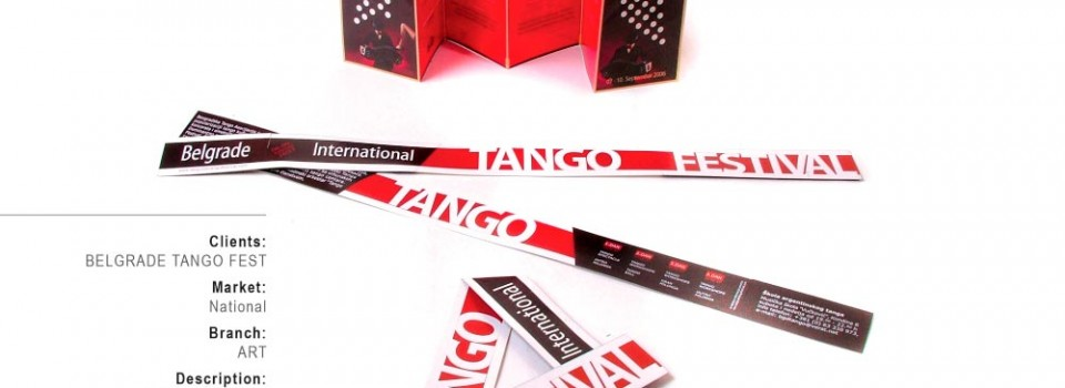 4th Belgrade Tango Festival